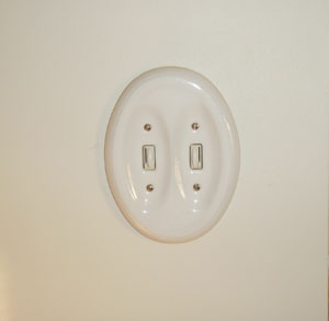 sliding dimmer light switch