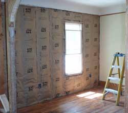 R-13 wall insulation