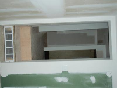 Unsafe Steps in Foreclosed House