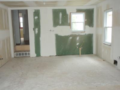 Kitchen Missing In Bank Owned Home