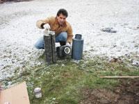joe the rehabber septic filter