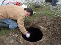 joe the rehabber septic pit
