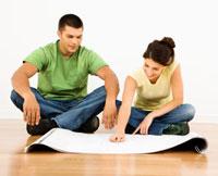 planning blueprints couple
