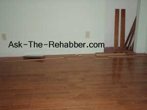 Prefinished oak floor
