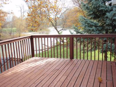 Deck On The River