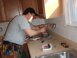 remodeling kitchens electrician