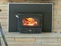 Wood Burning Fireplace Insert
