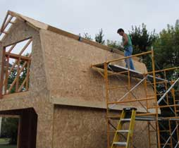Rehabbing houses and building a garage