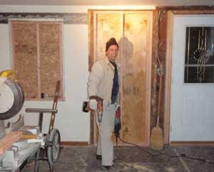 Rehabbing houses construction