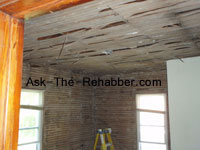 Plaster and Lath removal