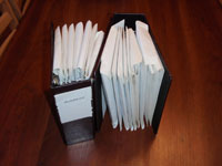 Rehabber receipt books