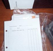 Receipt Ledger Envelope